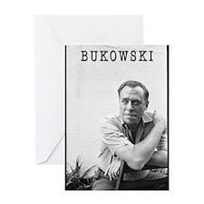 BUKOWSKI BY SAM CHERRY Greeting Card