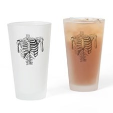 ribcage(bone) Drinking Glass
