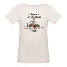 Personalize 1st Christmas Tee