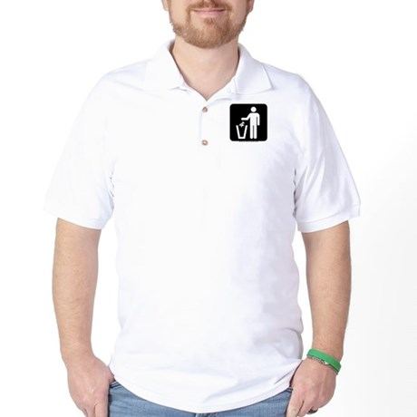 Trash Disposal Golf Shirt