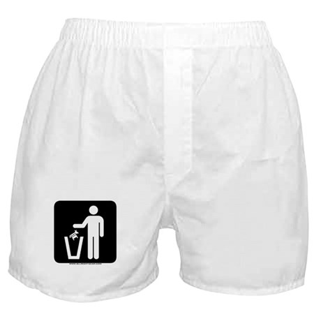 Trash Disposal Boxer Shorts