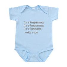 I Write Code Infant Bodysuit
