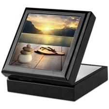 Zen Sunset Keepsake Box