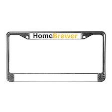 homebrewer_lt License Plate Frame