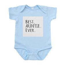 Best Auntie Ever Body Suit