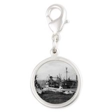 boyd small poster Silver Round Charm