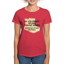 National Guard Grandma Grandson Desert Combat Boot