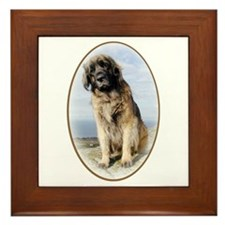 leonberger Framed Tile