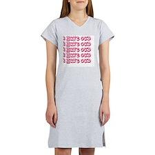 3-OCD Women's Nightshirt
