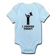 I Pooped Today! Infant Bodysuit