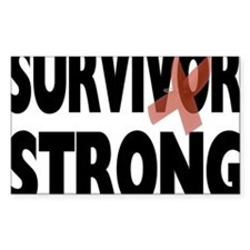 Survivor Strong Decal