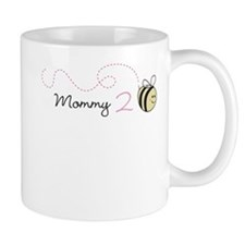 Personalized Pregnancy Announcement Bee Mugs