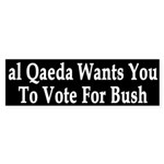 al Qaeda Wants You to Vote For Bush