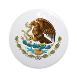 Mexico - Mexican Eagle Ornament (Round)