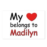 My heart belongs to madilyn Postcards (Package of
