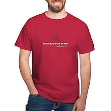 Plan 9 - Idiots - Red T-Shirt