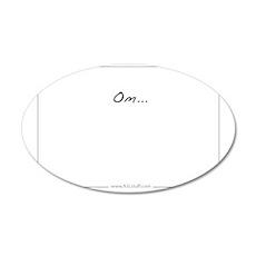 OmHorzASLstuffInside 35x21 Oval Wall Decal
