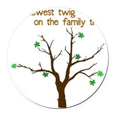 family_tree2 Round Car Magnet