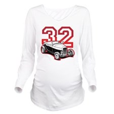 red 32 ford Long Sleeve Maternity T-Shirt