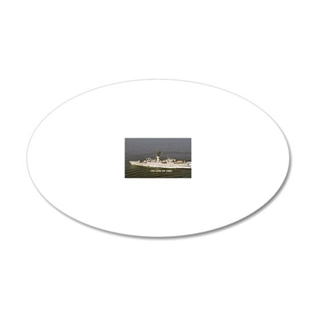 lang ff sticker 20x12 Oval Wall Decal