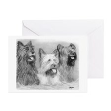 Skye Terrier Dog Greeting Cards