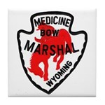 Medicine Bow Marshal Tile Coaster