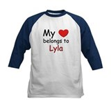 My heart belongs to lyla Tee
