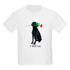 wuff you Kids T-Shirt