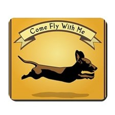 8x9_trvlbnd_flying_dog Mousepad