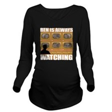 2-Ben Long Sleeve Maternity T-Shirt