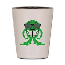 Brainiac alien Shot Glass