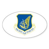 Pacific Air Forces Oval Decal