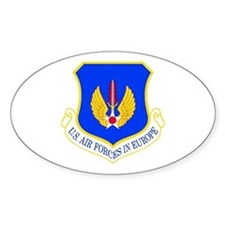 USAF Europe Oval Decal
