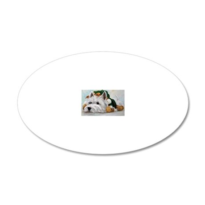 Humbug 20x12 Oval Wall Decal