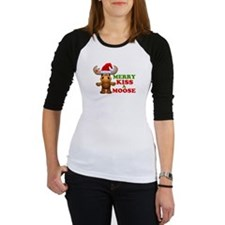 Cute Merry Kiss A Moose Christmas Shirt