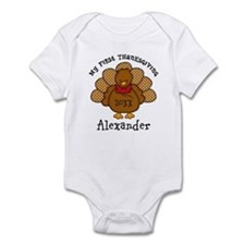 Baby Turkey 1st Thanksgiving Infant Bodysuit