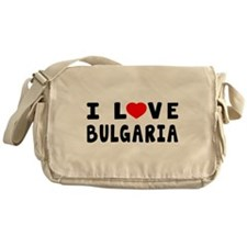 I Love Bulgaria Messenger Bag