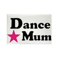 Dance Mum Rectangle Magnet