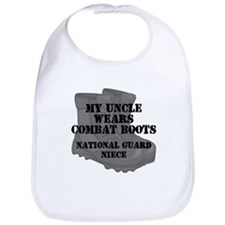 National Guard Niece Uncle Combat Boots Bib