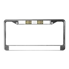 Times of the Day - License Plate Frame