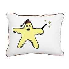 Oh my Stars! Rectangular Canvas Pillow