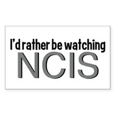 Rather Watch NCIS Decal