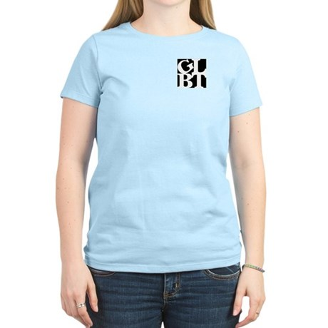GLBT Black Pocket Pop Women's Light T-Shirt