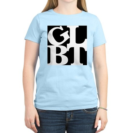 GLBT Black Pop Women's Light T-Shirt