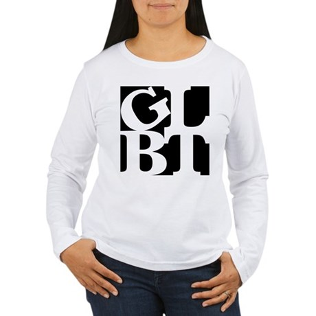 GLBT Black Pop Women's Long Sleeve T-Shirt