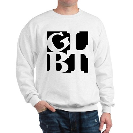 GLBT Black Pop Sweatshirt