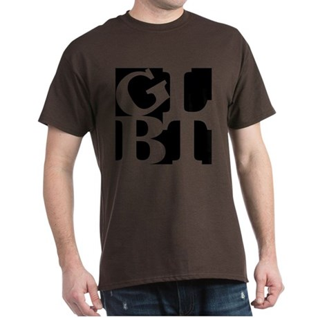 GLBT Black Pop Dark T-Shirt