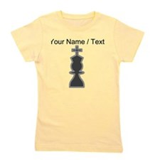 Custom Chess King Girl's Tee