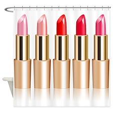 Lipstick Shower Curtain
