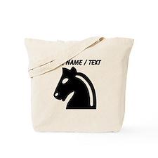 Custom Chess Knight Tote Bag